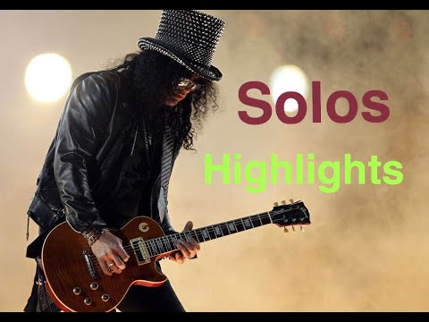 Slash Guitar Solos & Highlights