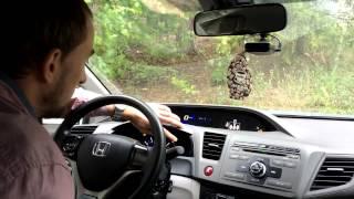 Тест приборной панели Honda Civic 4D 2012