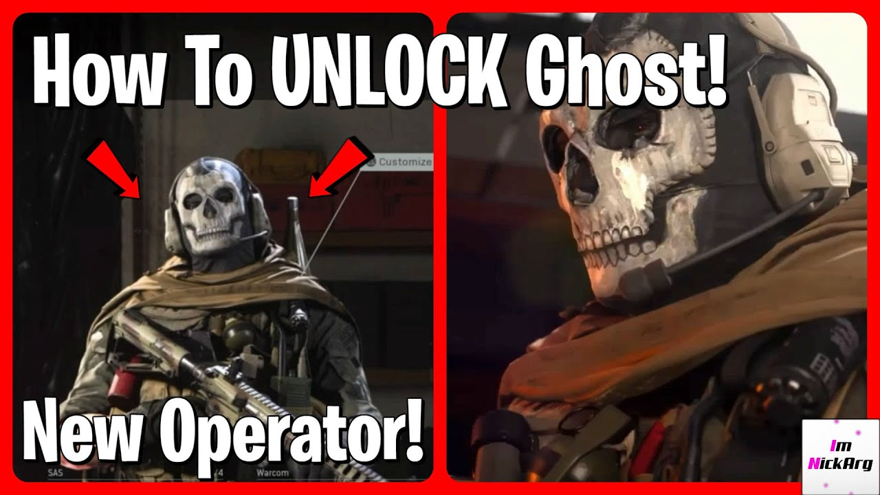 How To Unlock Ghost Operator In Modern Warfare Season 2 New