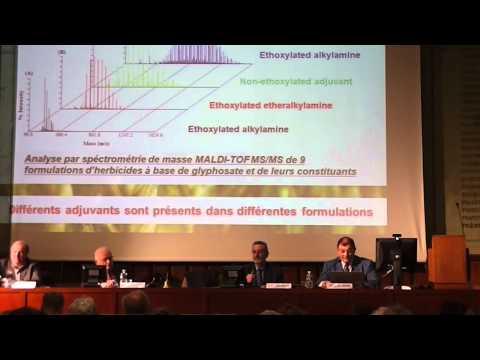 """Conférence de Gilles-Eric Séralini """"OGM et pesticides : évolutions sanitaires"""""""