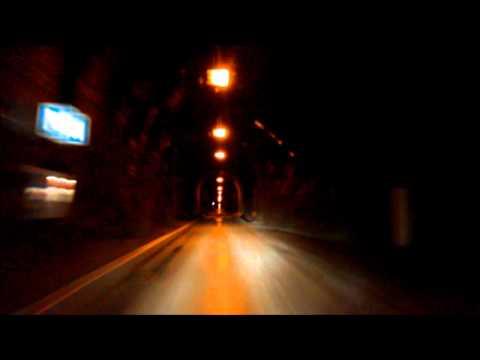 Øksfjordtunnelen, gjennomkjøring fra østsiden 2011