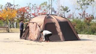 캠프타운 INSTA 텐트 이볼루션 설치 동영상