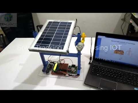 Download SOLAR TRACKER SYSTEM USING IOT