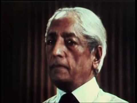 J. Krishnamurti - San Diego 1970 - Public Talk 1 - How does one learn about oneself?