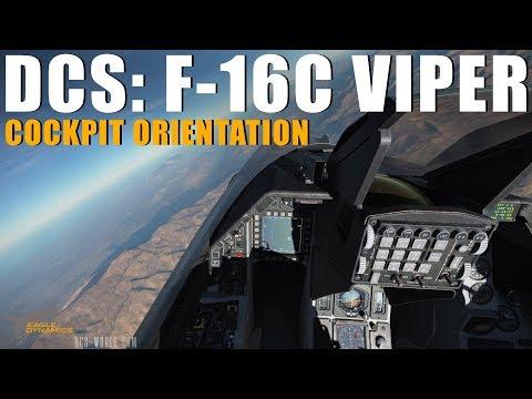 DCS: F-16C Viper - Cockpit Orientation