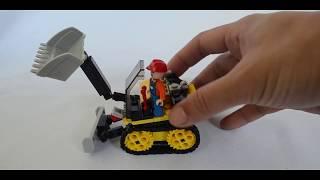 Sluban | Town Construction | Lego | Dump Truck | Loader Truck & Bulldozer Construction Toy Vehicles