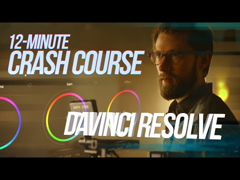 DaVinci Resolve 12.5 Tutorial : Crash Course in 12 Minutes