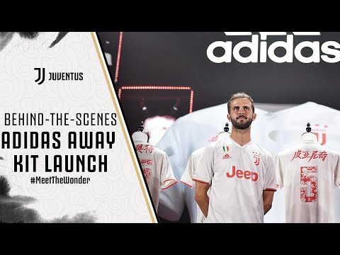 san francisco f20fc 70f10 ADIDAS JUVENTUS AWAY KIT LAUNCH | BEHIND-THE-SCENES - YouTube