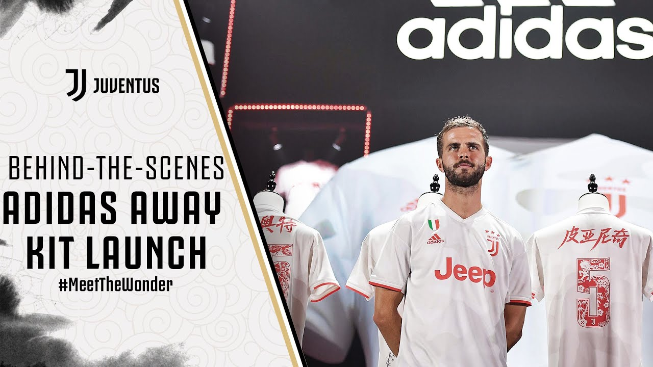 huge selection of aa03b eab0c ADIDAS JUVENTUS AWAY KIT LAUNCH | BEHIND-THE-SCENES