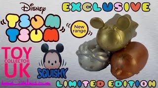 SQUISHY Tsum Tsum Limited Edition Gold Silver and Bronze Squishy Tsum Tsum