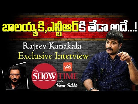 Rajeev Kanakala Exclusive Interview |  YOYO  It's  Show Time with Venu Bikki