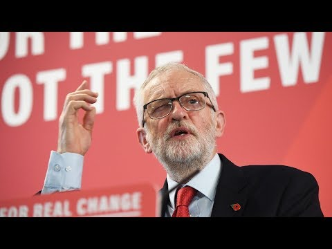 Campaign Live: Jeremy Corbyn delivers key speech on leadership in Telford | ITV News