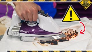 Will An Iron Actually Burn Your Clothes (Myth Testing)?