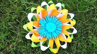 Как Сделать Цветок Из Бумаги Для Декора, Фотозоны. Бумажный Декор Своими Руками