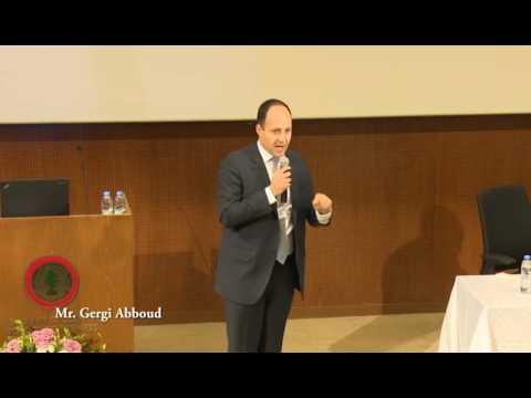 Cognitive Analytics Management #CAM2016: Mr  Gergi Abboud