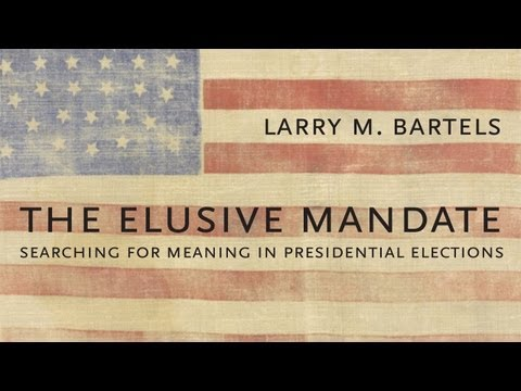 The Elusive Mandate: Searching for Meaning in Presidential Elections    Radcliffe Institute