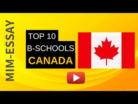 TOP B-SCHOOLS FOR MS IN CANADA | WITH PROGRAM AND SALARY
