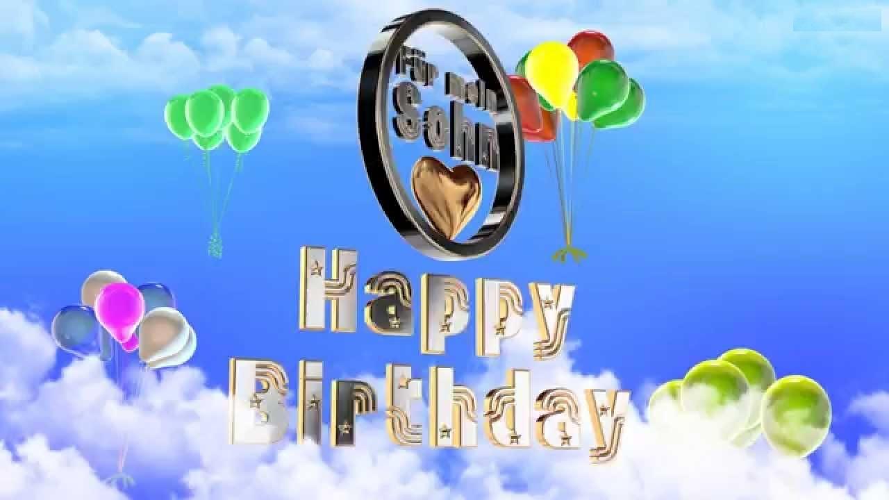 18 Lets Quatsch Alles Gute Zum Geburtstag Mein Sohnemann Youtube