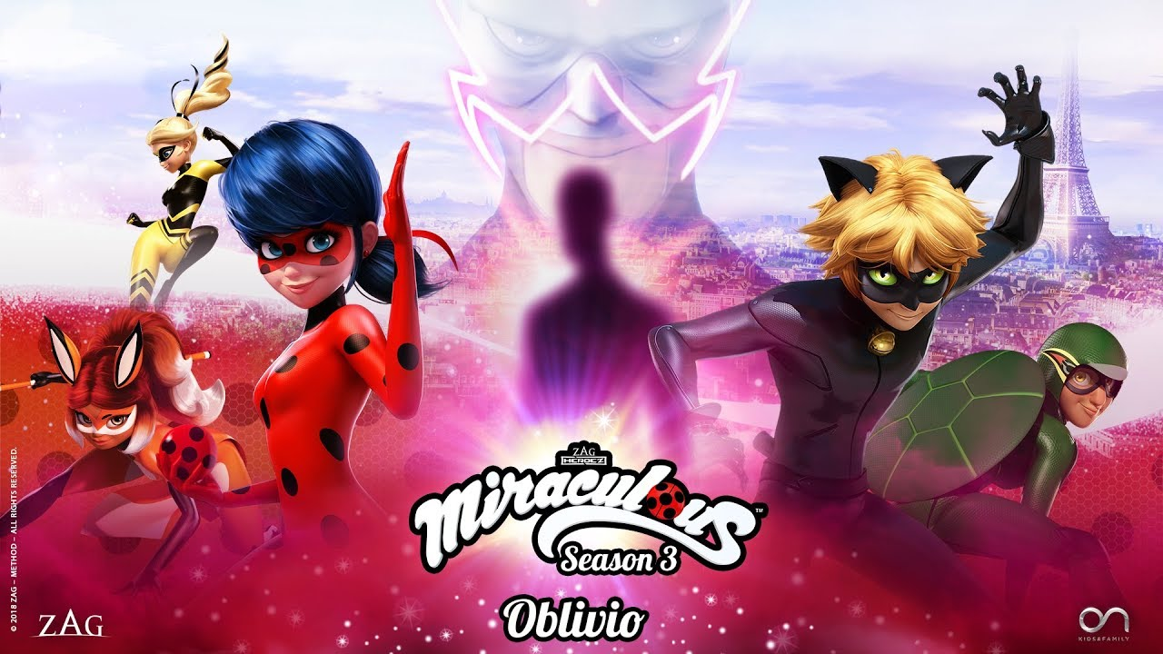 Download MIRACULOUS   🐞 OBLIVIO - OFFICIAL TRAILER 🐞   SEASON 3   Tales of Ladybug and Cat Noir