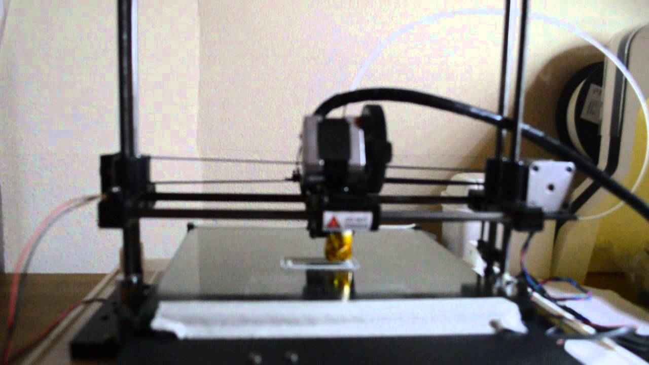 Robo 3D Printer - Printing - YouTube