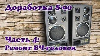Radiotehnika Modernizatsiya Qilish S-90. Qismi 4: RF rahbarlari Ta'mirlash 10ГД-35
