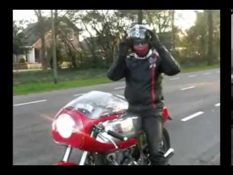 Rickman Metisse Triumph 750cc type t140 1973 red