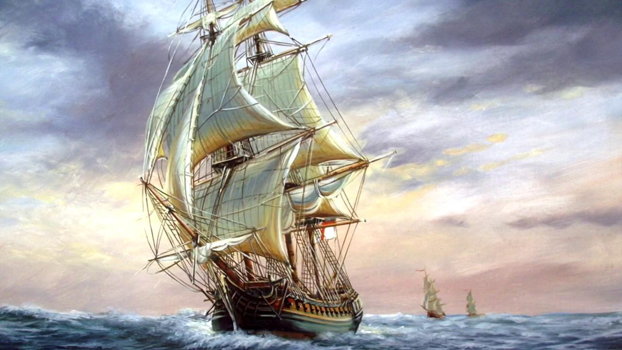 фэнтези фотоколлаж парусные корабли можно
