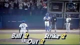 1986 World Series Game 7 Mets/ Red Sox final out !!!
