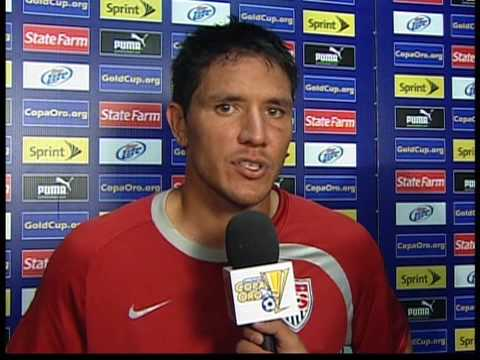 Post Game interviews USA v Honduras