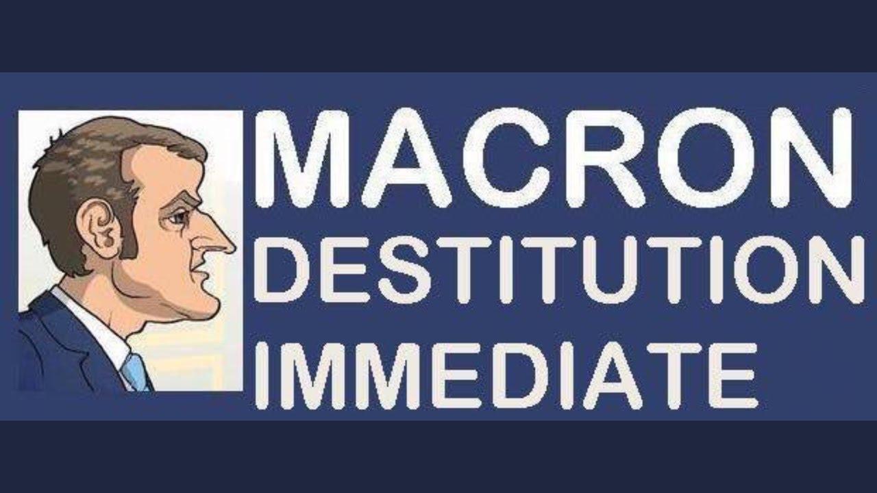 """Résultat de recherche d'images pour """"destitution macron"""""""