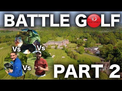 BATTLE GOLF Ft THE INCREDIBLE HULK! - VALE ROYAL ABBEY GC