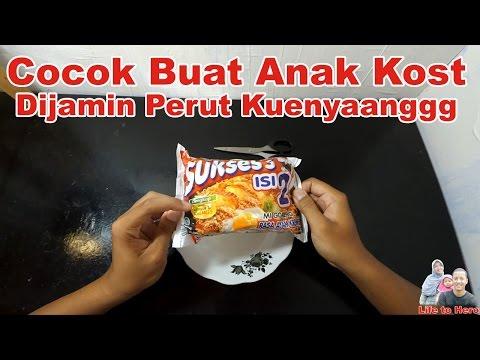Unboxing dan Review Mie Sukses Isi 2 Rasa Ayam Kremes
