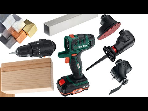 parkside 4 in 1 cordless combination tool pkga 16 a1 unboxing youtube. Black Bedroom Furniture Sets. Home Design Ideas