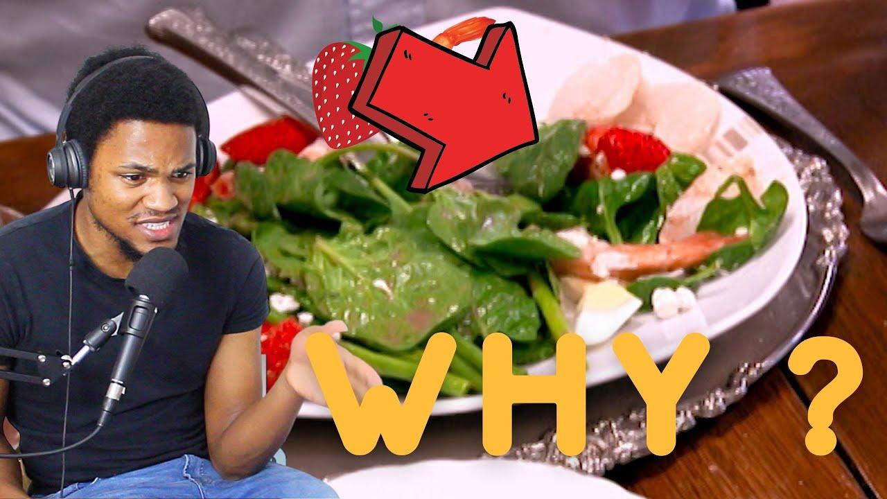 Download Gordon Ramsay Served STRAWBERRIES & SHRIMP Kitchen Nightmares | reaction