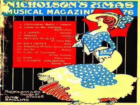 Melba Waltz 1898 by George de Cairos-Rego 1858-1946