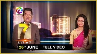 Live at 7 News – 2019.06.26 Thumbnail