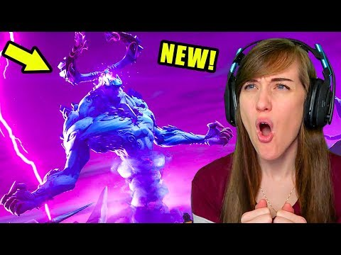 The NEW Storm King Event in Fortnite is CRAZY!