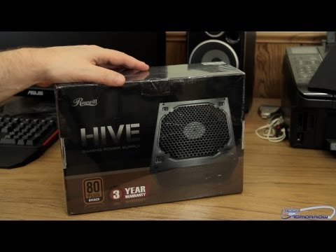 Rosewill HIVE Series 750W Gaming Power Supply Unboxing