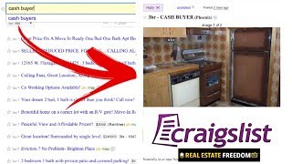 3 Steps To Find Cash Buyers on Craigslist