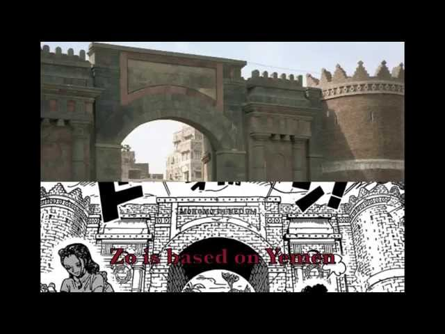 One Piece - Zou is based on Yemen (100% Confirmed)
