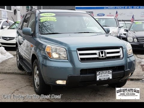 2006 honda pilot ex l for sale roselle nj 07203 youtube. Black Bedroom Furniture Sets. Home Design Ideas