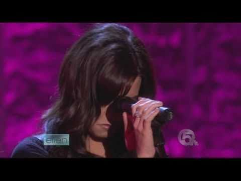 Demi Lovato Live on Ellen
