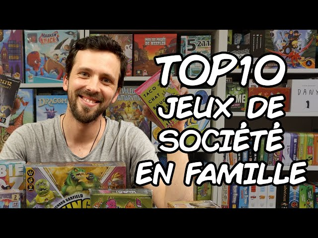 Mon Top 10 des jeux de société en famille : Baptiste