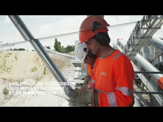 Modernisation de la carrière de Vensat