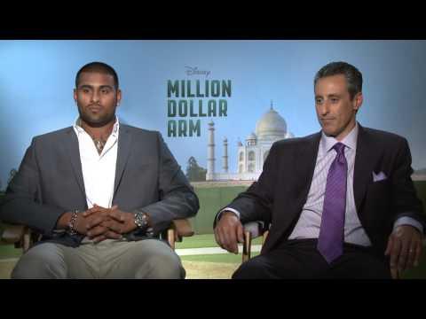 Million Dollar Arm: JB Bernstein & Rinku Singh Official Movie Interview