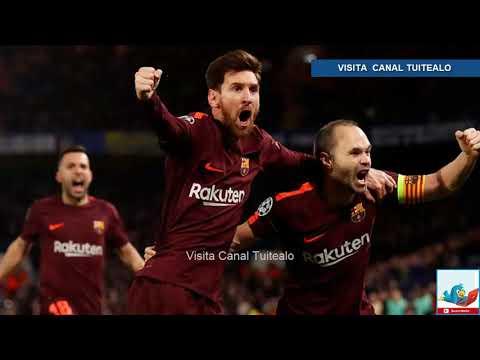 cuando juega el barcelona en la champions