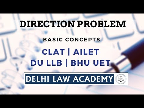 Delhi Law Academy - Direction Problems Tutorial
