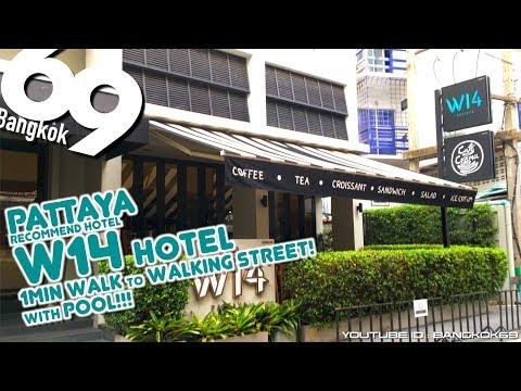 Pattaya W14 Hotel / 1Min walk to Walking Street