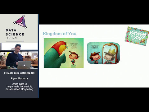 Ryan Moriarty: Using data to help create impossibly personalised storytelling.