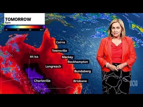 Red hot Queensland: Eight days of forty-plus temperatures in Birdsville